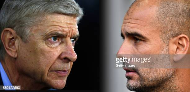 GRADIENT ADDED COMPOSITE OF TWO IMAGES Image numbers 502540908 and 612040098 In this composite image a comparision has been made between Arsene...