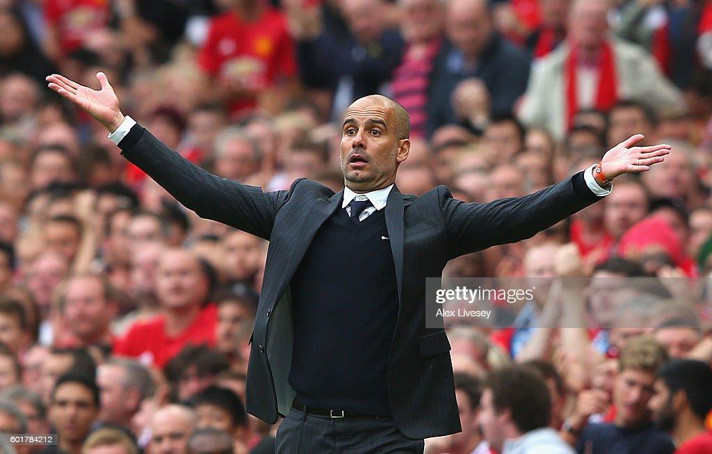 Manchester United v Manchester City - Premier League : News Photo