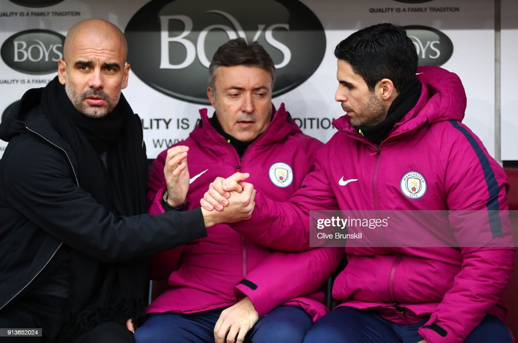 Pep Guardiola says Mikel Arteta 'deserves the best' amid Arsenal manager talk