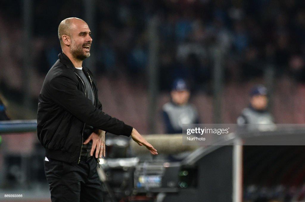 Napoli v Manchester City - UEFA Champions League : News Photo