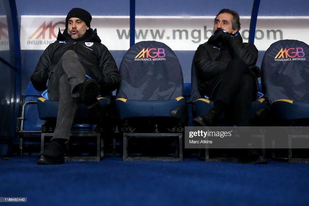 Oxford United v Manchester City - Carabao Cup: Quarter Final : News Photo