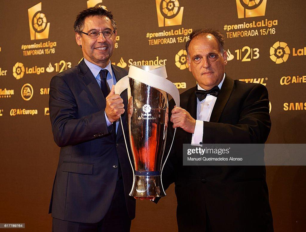 'PremiosLaLiga' Soccer Awards 2016 : ニュース写真