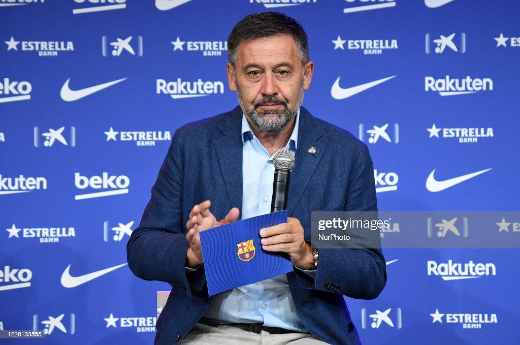 FC Barcelona Introduce New Player Pedro Gonzalez Lopez - 'Pedri' : News Photo