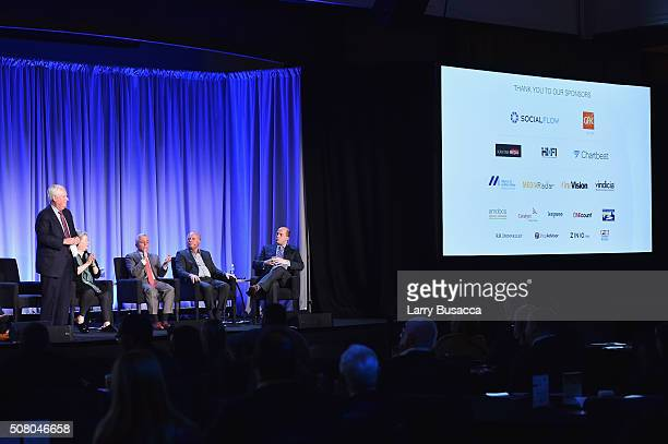 Joseph A. Ripp, chairman and CEO of Time Inc., Maria Rodale, CEO and chairman of Rodale Inc., Stephen M. Lacy, chairman and CEO of Meredith...