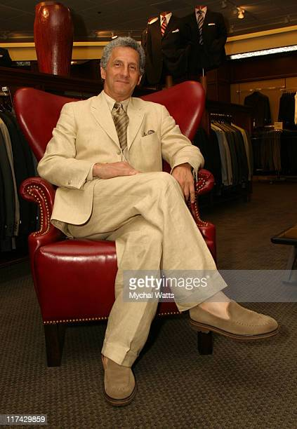 Joseph Abboud during Fashion Designer Joseph Abboud Makes a Special Appearance at the Grand Reopening of Nordstrom at the Garden State Mall at Garden...