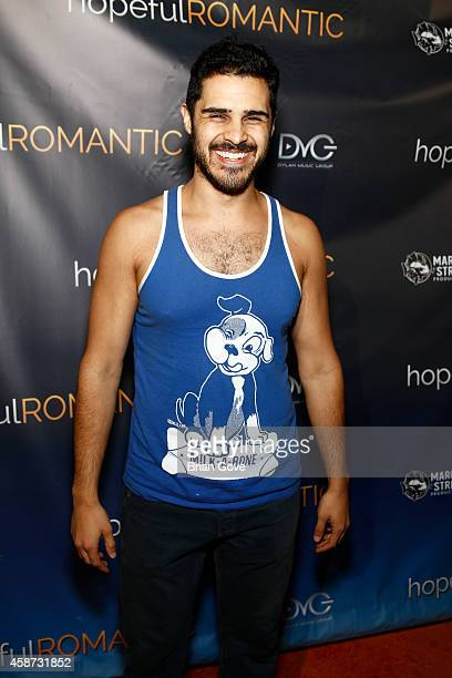 Joseph Arellano attends Matt Zarley's Original Musical Short Film hopefulROMANTIC at American Film Institute on November 9 2014 in Los Angeles...