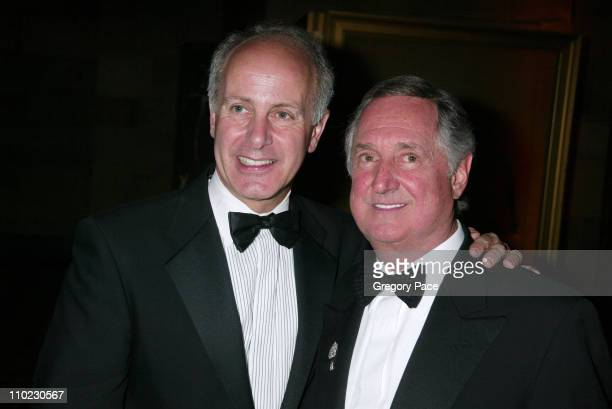 Joseph Benincasa and Neil Sedaka during The Actors Fund There's No Business Like Show Business Gala at Cipriani 42nd Street in New York City New York...