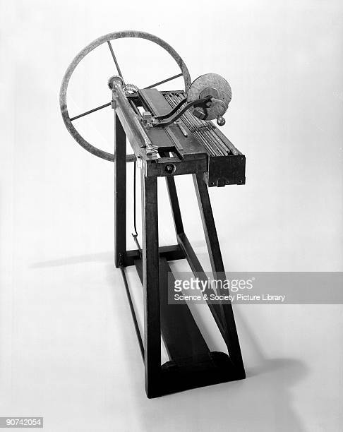 Joseph Bramah inventor of the hydraulic press for shaping pieces of iron and steel one of the great instruments of the industrial revolution