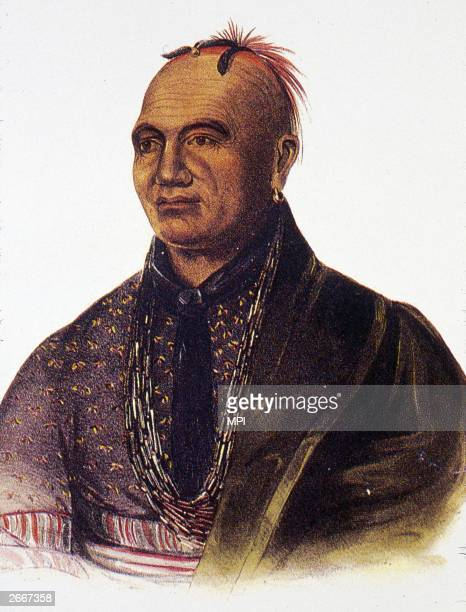 Joseph Brant or Thayendanega a Mohawk chief who was educated by the British and remained loyal to them throughout the French and Indian War the...