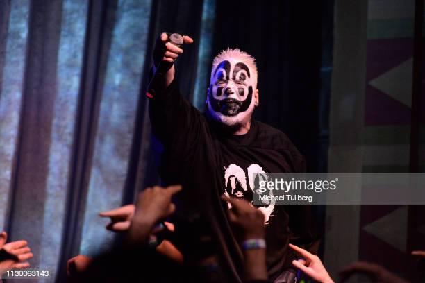 Joseph Bruce aka Violent J of Insane Clown Posse perform at The Regent Theatre on February 15 2019 in Los Angeles California