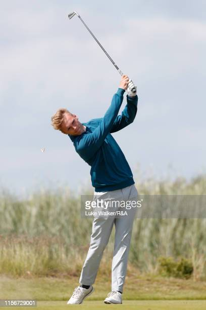 Joseph Bryce of Scotland during Day Two of the RA Amateur Championship at Portmarnock Golf Club on June 18 2019 in Portmarnock Ireland