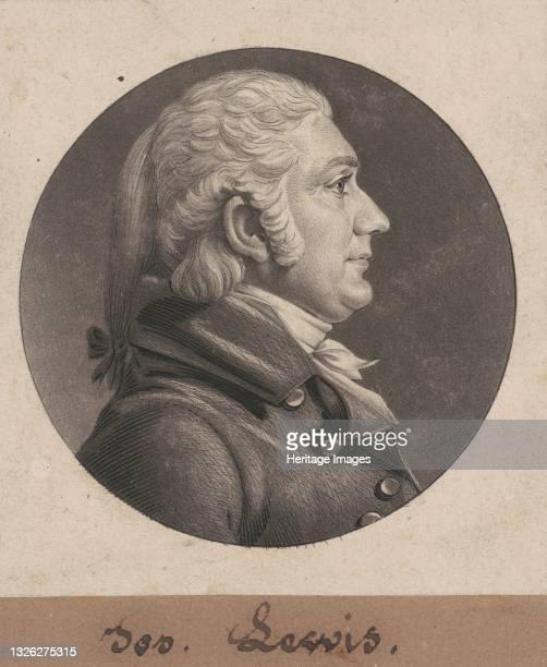 Joseph C. Lewis II, 1805. Artist Charles Balthazar Julien Févret de Saint-Mémin.
