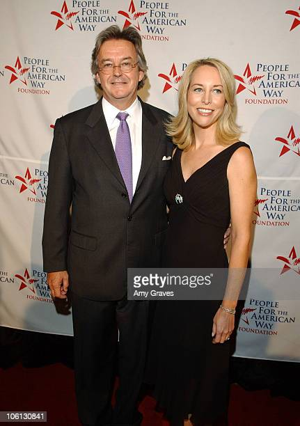 Joseph C Wilson IV and Valerie Plame Wilson during People for the American Way's 2006 Spirit of Liberty Awards at Beverly Hilton Hotel in Beverly...