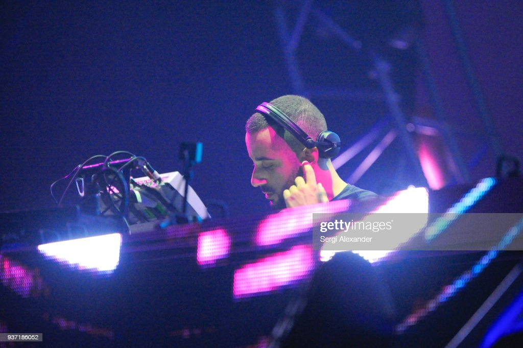 Dj Joseph Capriati Performs On Stage At Ultra Music Festival At News Photo Getty Images