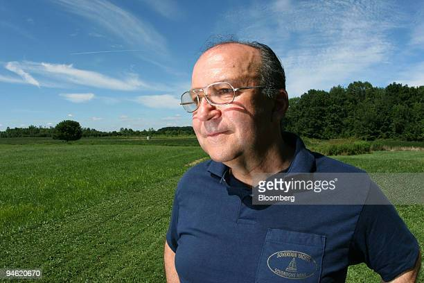 Joseph Charlillo poses for a photo near his home in Salem Ohio Monday August 21 2006 Charlillo's heart pumps at half strength and his doctor...