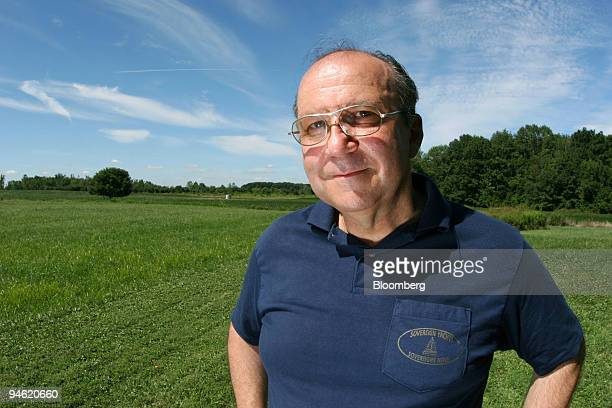 Joseph Charlillo poses near his home in Salem Ohio Monday August 21 2006 Charlillo's heart pumps at half strength and his doctor prescribed a...