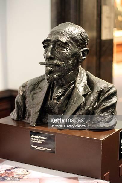 Joseph Conrad Bronze bust by Sir Jacob Epstein 1924 Joseph Conrad was a Polish author who wrote in English Sir Jacob Epstein KBE was an Americanborn...