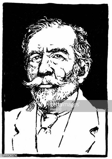 Joseph Conrad Polishborn British novelist Woodblock