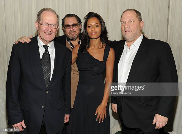 Joseph Deiss President of the Sixty Fifth Session of the United Nations Director Julian Schnabel Screenwriter Rula Jebreal and Producer Harvey...
