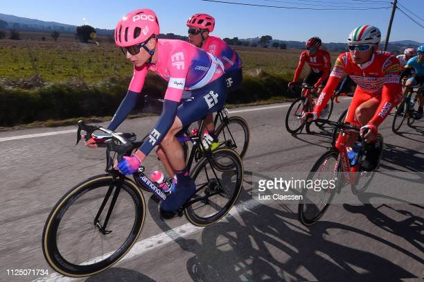 Joseph Dombrowski of The United States and Team EF Education First / Hugh Carthy of Great Britain and Team EF Education First / during the 4th Tour...