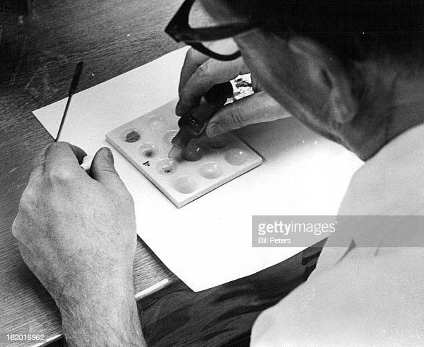 NOV 13 1969 NOV 15 1969 NOV 16 1969 Joseph F Moomaw makes an analysis of suspected LSD at CBI Laboratory The facilities have become most helpful to...