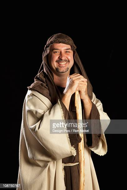 joseph, father of jesus - smiling jesus stock pictures, royalty-free photos & images