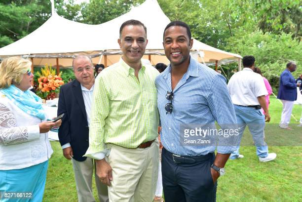 Joseph Fichera and Don Lemon attend UNCF VIP Brunch hosted by Co-chairs Jean Shafiroff, William Pickens III and Paula Taylor at Private Residence on...