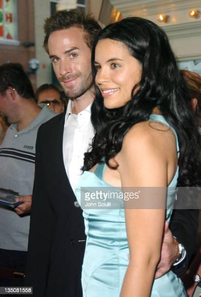 Joseph Fiennes and Zuleikha Robinson during 2004 Toronto International Film Festival 'Merchant of Venice' Premiere at Elgin Theatre in Toronto...
