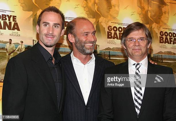 Joseph Fiennes Andro Steinborn producer and Bille August director