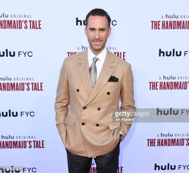 Joseph Fiennes attends Hulu's The Handmaid's Tale Celebrates Season 3 Finale at Regency Village Theatre on August 06 2019 in Westwood California
