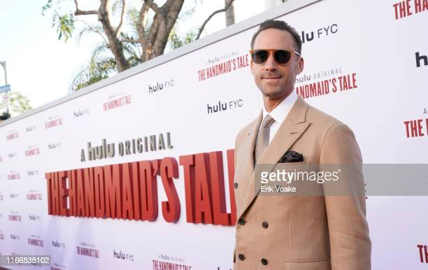 Joseph Fiennes attends Hulu's The Handmaid's Tale season 3 finale at Regency Village Theatre on August 06 2019 in Westwood California