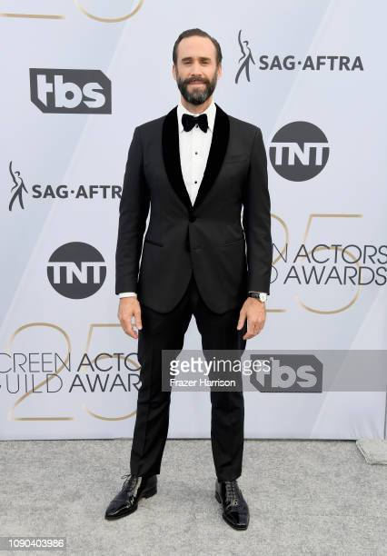 Joseph Fiennes attends the 25th Annual Screen Actors Guild Awards at The Shrine Auditorium on January 27 2019 in Los Angeles California