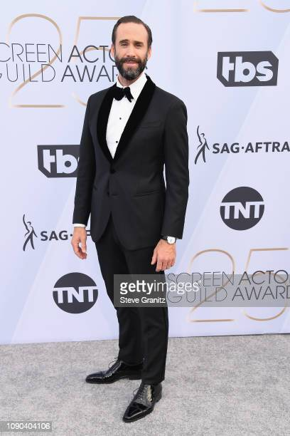 Joseph Fiennes attends the 25th Annual Screen ActorsGuild Awards at The Shrine Auditorium on January 27 2019 in Los Angeles California