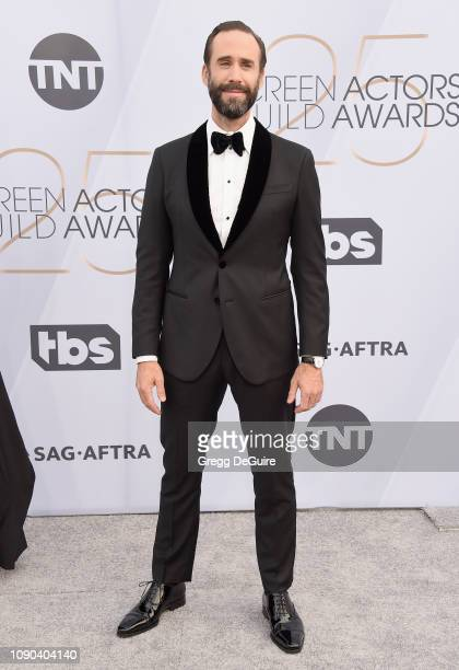 Joseph Fiennes attends the 25th Annual Screen ActorsGuild Awards at The Shrine Auditorium on January 27 2019 in Los Angeles California 480645