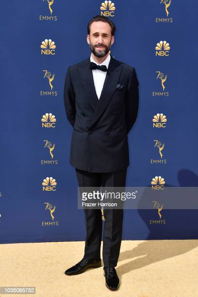 Joseph Fiennes attends the 70th Emmy Awards at Microsoft Theater on September 17 2018 in Los Angeles California