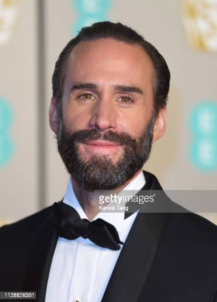 Joseph Fiennes attends the EE British Academy Film Awards at Royal Albert Hall on February 10 2019 in London England