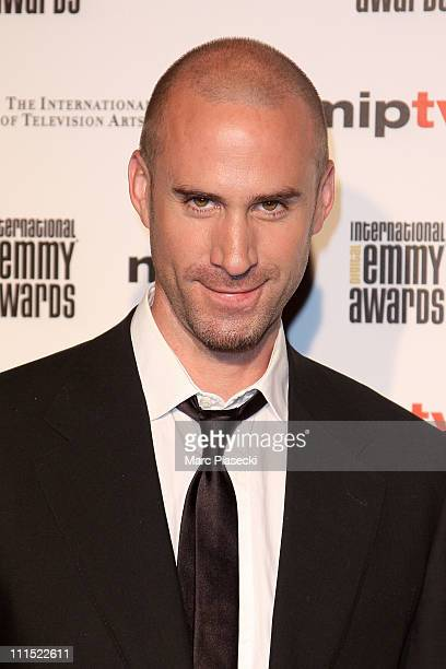 Joseph Fiennes attends the MIPTV 2011 Opening Cocktail Digital Emmy Awards at Carlton hotel on April 4 2011 in Cannes France