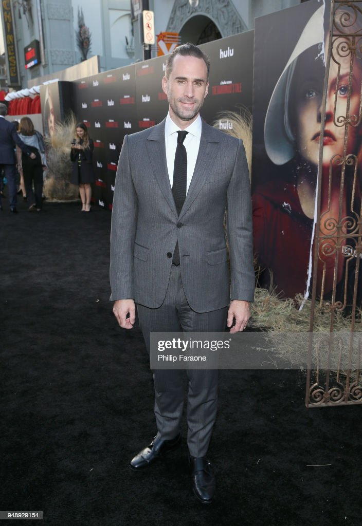 Joseph Fiennes attends the premiere of Hulu's 'The Handmaid's Tale' Season 2 at TCL Chinese Theatre on April 19, 2018 in Hollywood, California.
