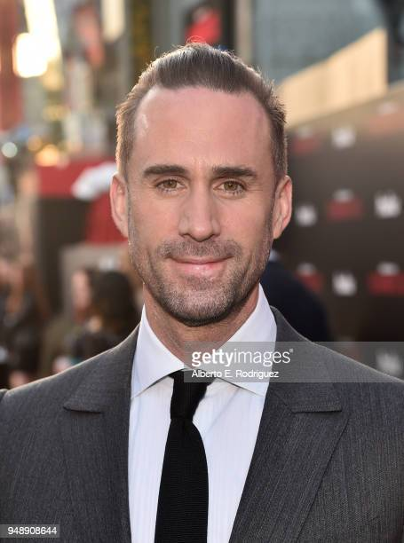 Joseph Fiennes attends the season 2 premiere of Hulu's The Handmaid's Tale at the TCL Chinese Theatre on April 19 2018 in Hollywood California