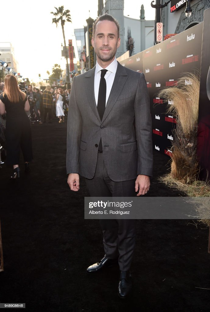Joseph Fiennes attends the season 2 premiere of Hulu's 'The Handmaid's Tale' at the TCL Chinese Theatre on April 19, 2018 in Hollywood, California.