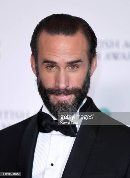 Joseph Fiennes poses in the press room during the EE British Academy Film Awards at Royal Albert Hall on February 10 2019 in London England