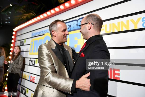 Joseph Gatto and James Murray attend the Impractical Jokers The Movie Premiere Screening and Party on February 18 2020 in New York City 739100