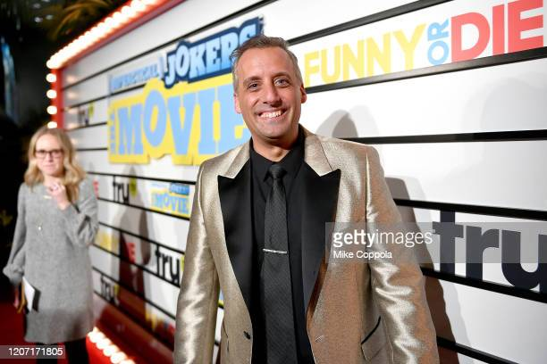Joseph Gatto attends the Impractical Jokers The Movie Premiere Screening and Party on February 18 2020 in New York City 739100