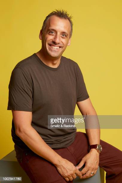 Joseph Gatto from truTV's 'Impractical Jokers' poses for a portrait at the Getty Images Portrait Studio powered by Pizza Hut at San Diego 2018 Comic...