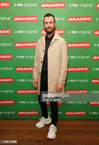 Joseph Gilgun attends the preview of Sky original Brassic all episodes of the comedy drama available August 22 on July 30 2019 in London England