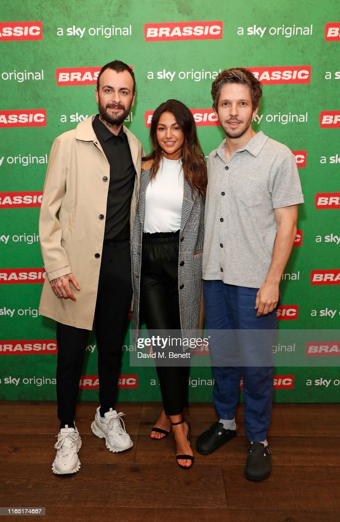 Screening For Sky Original Comedy, Brassic At The Ham Yard Hotel : News Photo