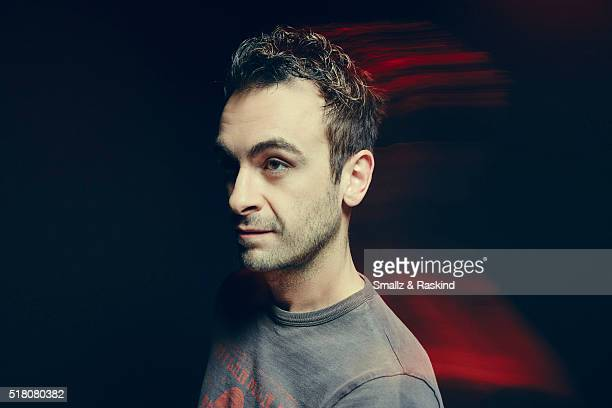 Joseph Gilgun poses for a portrait in the Getty Images SXSW Portrait Studio Powered By Samsung on March 13 2016 in Austin Texas