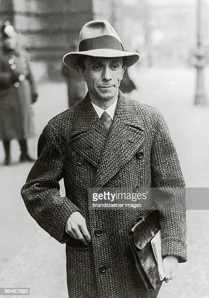 Joseph goebbels Propaganda Minister in Nazi Germany Photography 1231933 [Joseph Goebbels deutscher nationalsozialistischer Politiker Photographie...