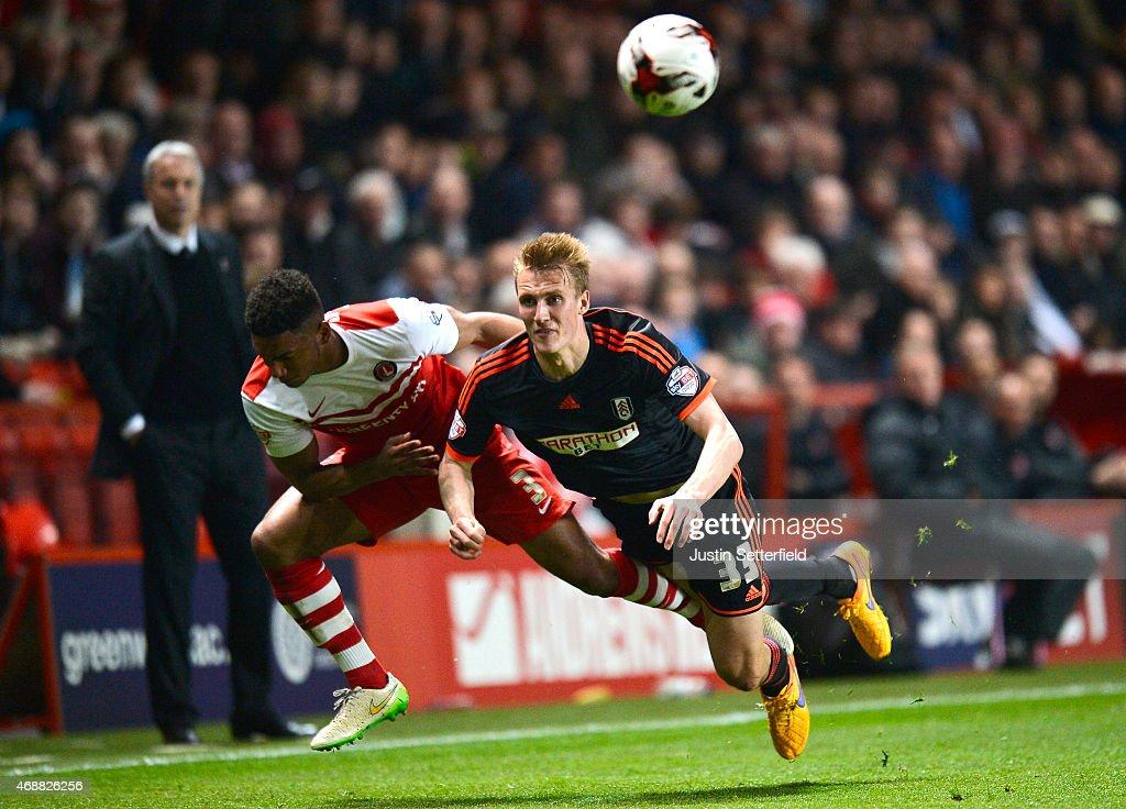 Charlton Athletic v Fulham - Sky Bet Championship : News Photo