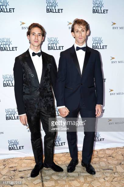 Joseph Gordon and Adrian DanchigWaring attend the New York City Ballet 2019 Fall Fashion Gala at David H Koch Theatre at Lincoln Center on September...